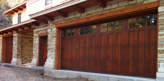 Wood-Door-Garage